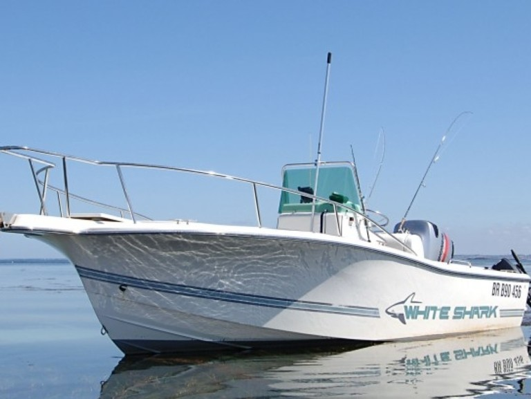Motor Boat Rental WHITE SHARK 215