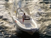 6.80 mt boat rental in Sorrento in Naples