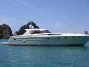 ITALIAN COAST RIZZARDI 50 EXCLSIVE YACHT FOR RENT