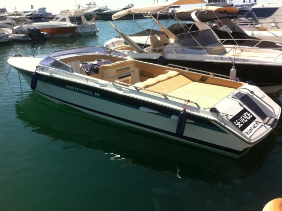 Boat rental Cannes Montecarlo 30