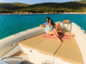 Rent boat from Villefranche-sur-Mer Blackfin