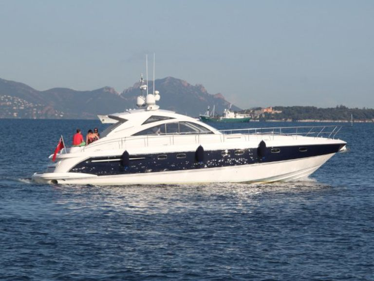 Yacht charter Fairline 52