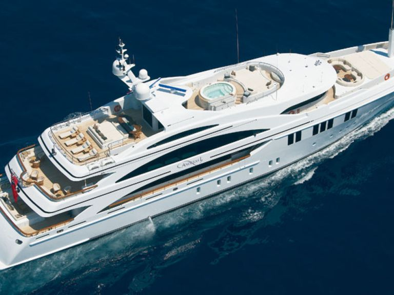 Super yacht charter Andreas L