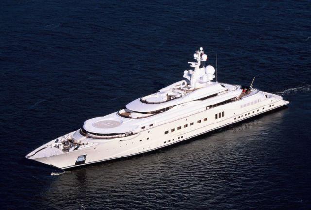 I 5 yatch pi grandi del mondo transitati in costa azzurra for Classifica yacht piu grandi del mondo