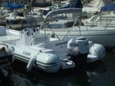 Semi rigid boat Rental Selva 800