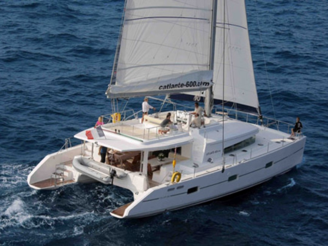 Catamaran charter dream 60 motor boat rentals sailing for By the cabin catamaran charters