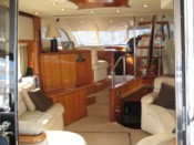 monaco sunseeker yacht charter with champagne