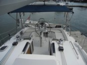sailboat Hunter 41 boat charter cannes 12 meters