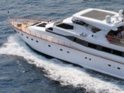 MONACO YACHT CHARTER WITH JACUZZI 28M REFIT 2018 12 GUESTS